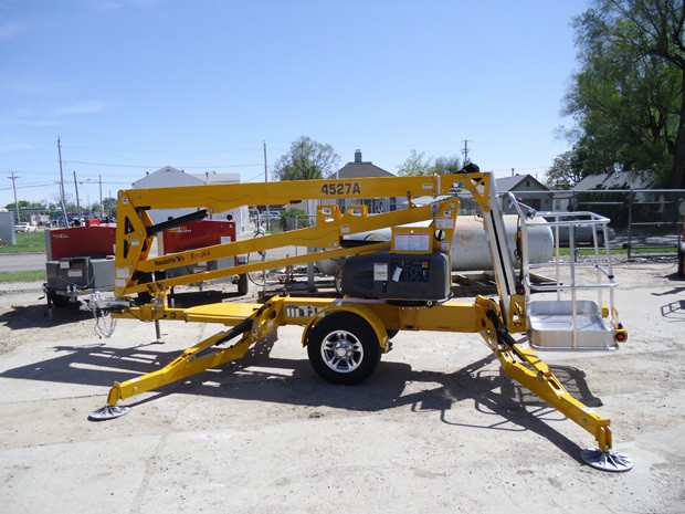 45 Foot Towable Manlift Resource Rental Center Council