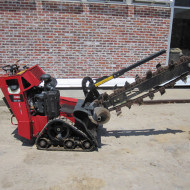 Toro Track Trencher for rent in Omaha, NE and Council Bluffs, IA