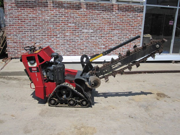 Toro Track Trencher Resource Rental Center Council