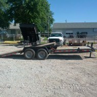 KAUFMAN 22' TILT BED TRAILER for rent in Omaha, NE and Council Bluffs, IA.