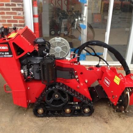 stump machine rental