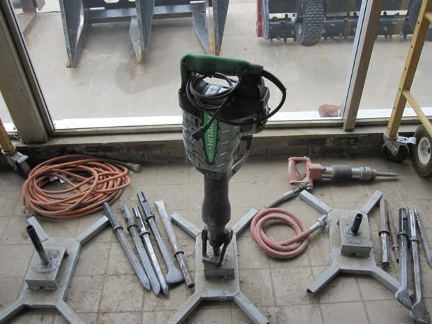 Electric Demolition Hammer