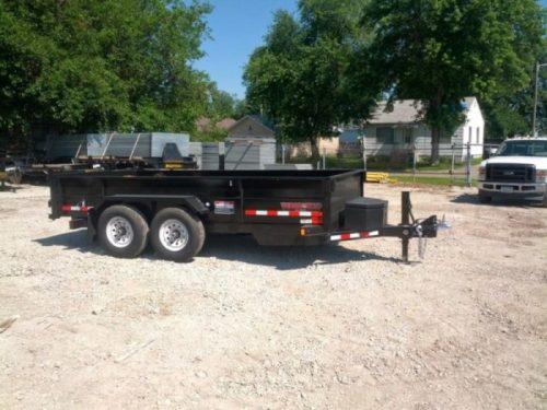 Single Axle Dump Trailer | Resource Rental Center | Council