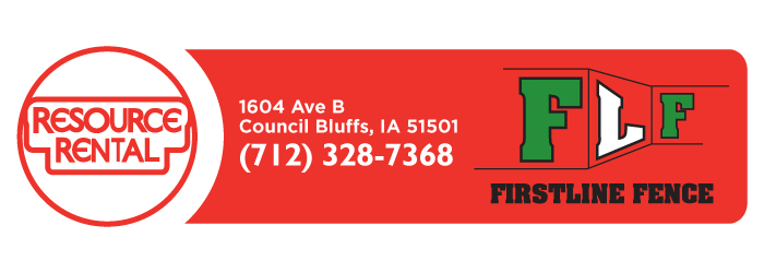 Resource Rental Center | Council Bluffs, IA and Omaha, NE Equipment and Tool Rental Logo